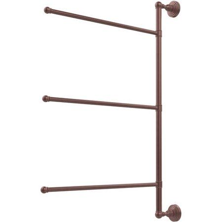 Allied Brass Mc 28 24 Ca Monte Carlo Collection 4 Tier 24 Inch Ladder Towel Bar Antique Copper Towel Bars Tools Home Improvement