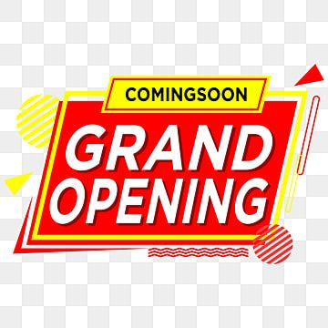 Grand Opening Red Shape Grandopening Opening Shape Png And Vector With Transparent Background For Free Download Grand Opening Grand Opening Banner Grand Opening Invitations