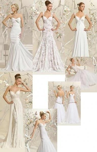 Подогнуть свадебное платье