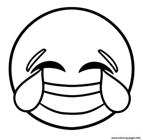 Duygular Ogretimi Icin Emoji Boyama Sayfalari Boyama Sayfalari Emoji Aplike Sablonlari