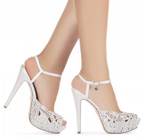 Scarpe Da Sposa Comode.Scarpe Da Sposa Comode E Belle 2020 Foto E Prezzi Scarpe Da