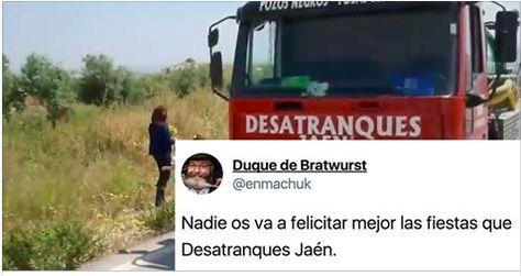 La cachondísima felicitación navideña de una empresa de Jaén desata el cachondeo en Twitter