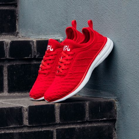 APL TechLoom Phantom Red/White | want in 2019 | Red sneakers