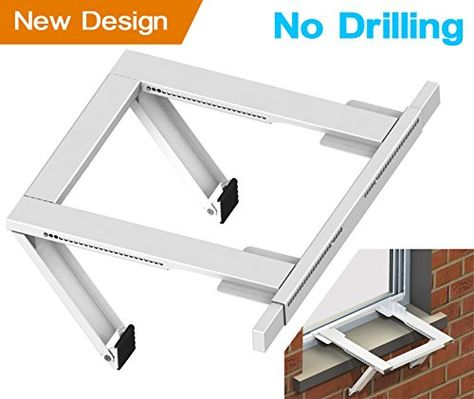 Jeacent Ac Window Air Conditioner Support Bracket No Drilling Window Air Conditioner Diy Air Conditioner Air Conditioner Installation