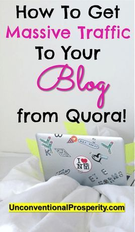 How To Get A Ton Of Blog Page Views From Quora Blog How To Get