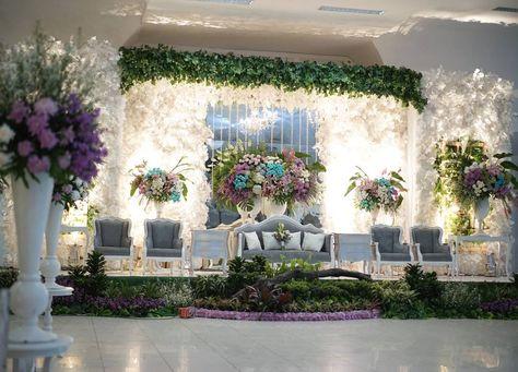 Dekorasi Pernikahan Modern Elegan Minimalis Lagi Ngetrend Di