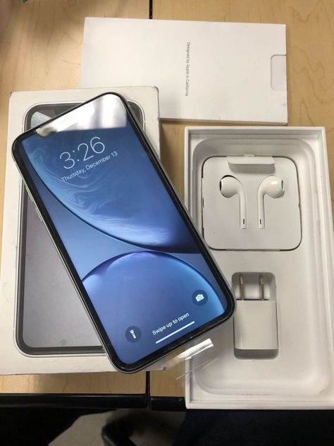 Apple Iphone Xr 128gb White At T A1984 Cdma Gsm Brand
