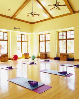 Fitness Room At The Willow Stream Yoga Retreat Center Treatment Rooms Workout Rooms