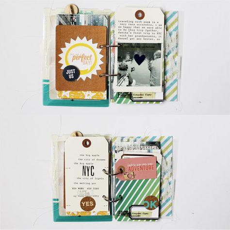 NYC Mini using 3x4 PL cards by MelBlackburn at @studio_calico