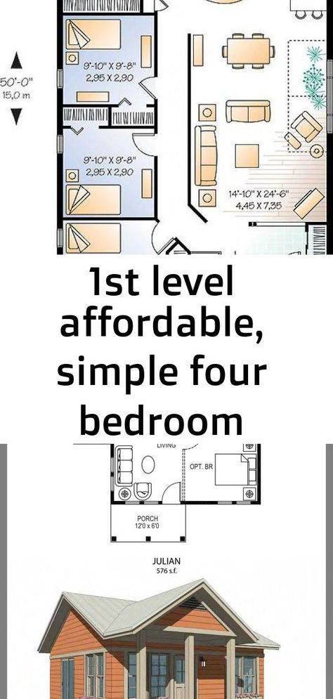 Popular Bungalow House Plans Open Floor Modern 42 Ideas In 2020 Bungalow House Plans Modern House Plans Open Floor Farmhouse Style Bedding