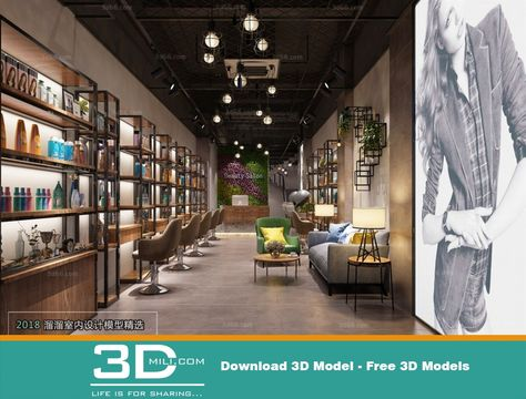 38 Exhibition Shop 3dsmax File Free Download Model Life Scenes