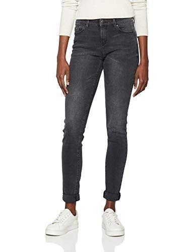 ESPRIT Damen Skinny Jeans 128EE1B002 Grau (Grey Dark Wash