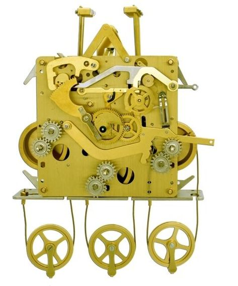 Details about Urgos Grandfather Clock Movement 32340 NEW Sub
