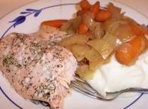 Slow Cooker Salmon