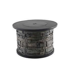 Creative Outdoor Solutions 36 5 In W 55000 Btu Gray Portable Tabletop Steel Fire Table Lowes Com Fire Table Outdoor Solutions Gas Fire Table