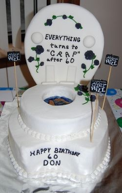 Share fun and fabulous over the hill cake ideas and photos and we'll add them to our photo gallery for the world to enjoy. Need help making your over the hill birthday cake?