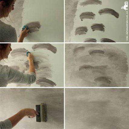 50 Ideas Painting Techniques Walls Diy