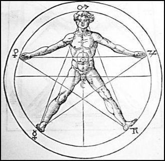 """""""YOD HE VAV HE""""    """"FUEGO-AGUA-AIRE-TIERRA"""" Y """"SEMILLA-TALLO-FLOR-FRUTO"""". La nómina en sí misma y por su simbolismo es un amuleto, siendo la medicina la protagonista del mismo, un amuleto de protección ante la enfermedad y con invocaciones hacia la curación de la misma, la estrella de cinco puntas o pentagrama, nuestro Tetragrammaton, representa al ser humano que se siente identificado con las fuerzas del Universo, y sintoniza sus energías con la energía universal."""