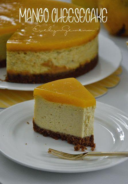 Sedapnya Mango Cheesecake Dah Menjadi Resepi Sensasi Sekarang Ni Mango Cheesecake Base 160g Biskut Marie Dih Mango Cheesecake Desserts Cheesecake