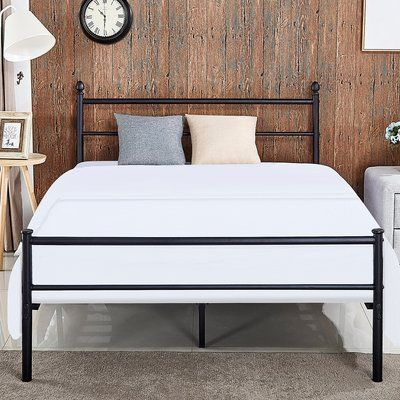Andover Mills Gough Platform Bed Metal Platform Bed Platform