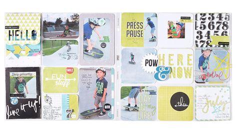 Heidi Swapp Project Life Layout @heidiswapp @beckyhigginsllc #heidiswapp #projectlife #hsprojectlife