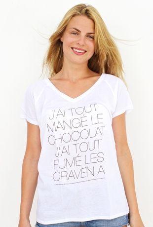 J'ai Tout Mange Le Chocolat : mange, chocolat, Épinglé, Tee-shirt, T-shirt, Chocolat, Shirt,, Chocolat,, Débardeur