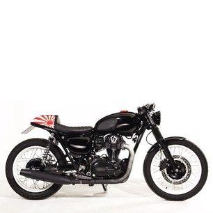 Kawasaki W800 Black Edition Cafe Racer Motorjdi Co