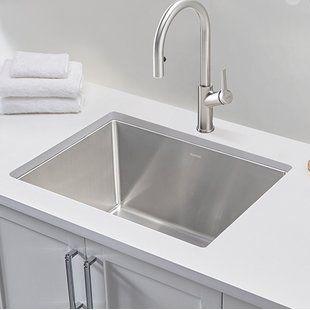 Laundry Utility Sinks You Ll Love Wayfair Ca With Images Laundry Sink Utility Sink Sink