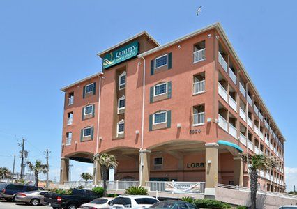 Galveston Tx Hotels Quality Inn And Suites Beachfront In 2020