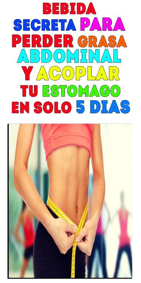 secreto para perder grasa del vientre