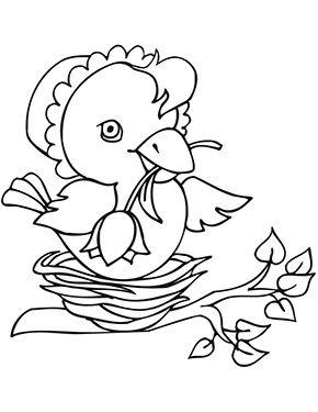 Ausmalbild Osterkuken Im Nest Zum Ausmalen Ausmalbilder Malvorlagen Ostern Osterhase Kinder Ausmalbilder Ostereier Ausmalen Ostern Zum Ausmalen