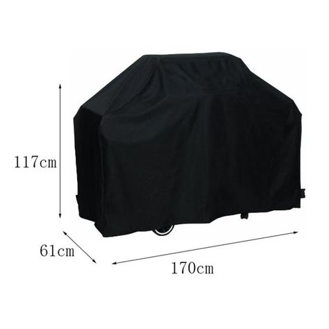 Waterproof Outdoor Garden XXLarge Barbecue//BBQ Cover Charcoal Grill Protector UK