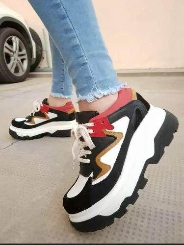 Zapatillas Urbanas Sneakers, Mujer Plataforma. Balenciaga