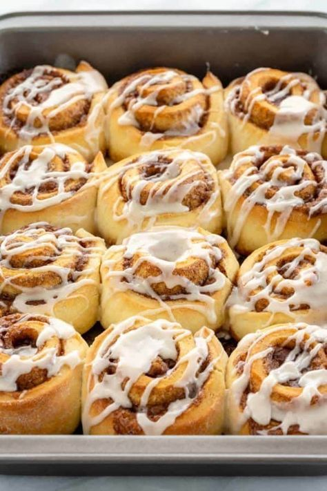 Homemade Cinnamon Rolls Recipe Cinnamon Rolls Food Recipes