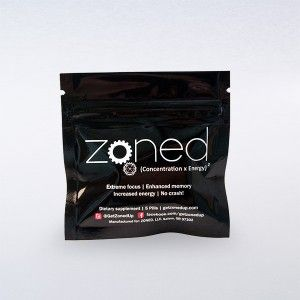 Zoned is a nootropic stack promoted as a natural alternative