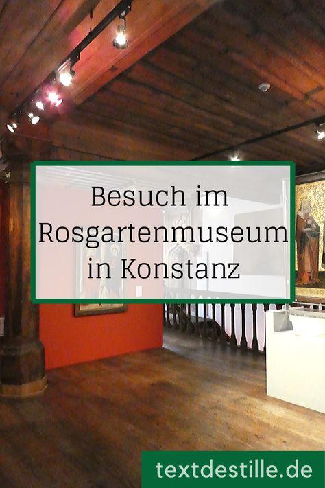 Das Rosgartenmuseum in Konstanz am Bodensee (mit Bildern
