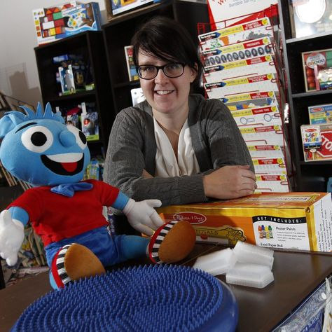 Autistic children find a welcome at 'Makes Sense' store (The Buffalo News)