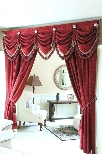The Best Living Room Valances And Swags Pictures