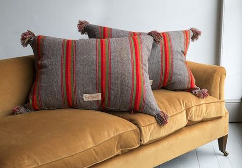A generous #madebyhowe pillow made from