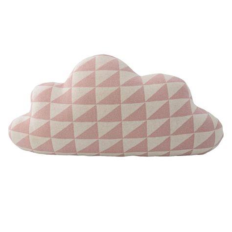 Bloomingville Kissen In Wolkenform Rosa Weiss Sanfte Traume