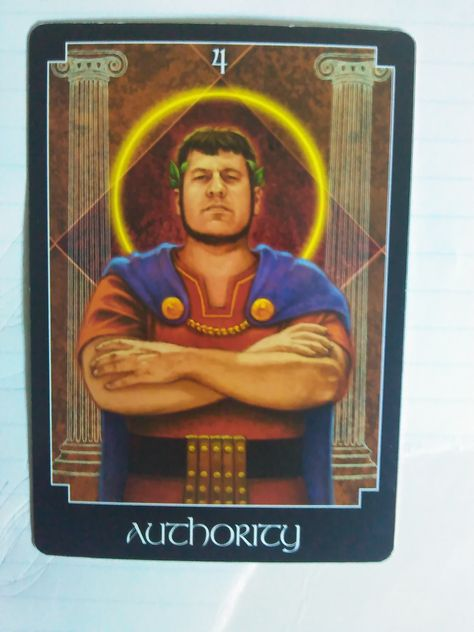 Authority Good morning everyone, I trust you are having a good day so far. As I was shuffling the deck for today's card, this one, Authority, made itself known. This card is here to tell us w…