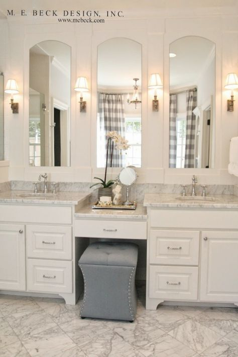 Image Result For Tall Skinny Vanity Mirror Small Master Bathroom Master Bathroom Design Small Bathroom Remodel