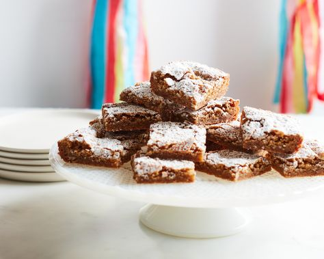 Recipe of the Day: Kardea's Charleston Chewies | To make sure these 5-star cookies have crispy edges but stay gooey in the middle, Kardea makes them in small batches and uses an 8-inch square baking dish.