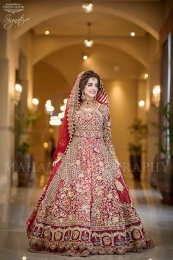 Latest Pakistani Designers Bridal Dresses Embroidery Collections Wedding Lehenga Sharara Best Red Bridal Dress Pakistani Bridal Dresses Indian Bridal Wear