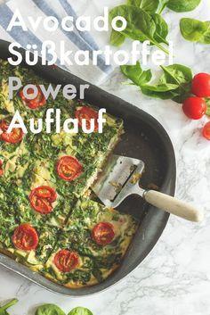 Süßkartoffelauflauf mit Avocado: Best Lunch on Earth - Healthy Soulfood
