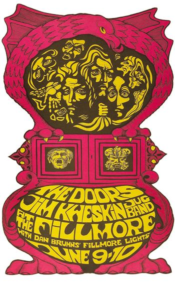 The Psychedelic Sixties | Vintage concert posters, Rock
