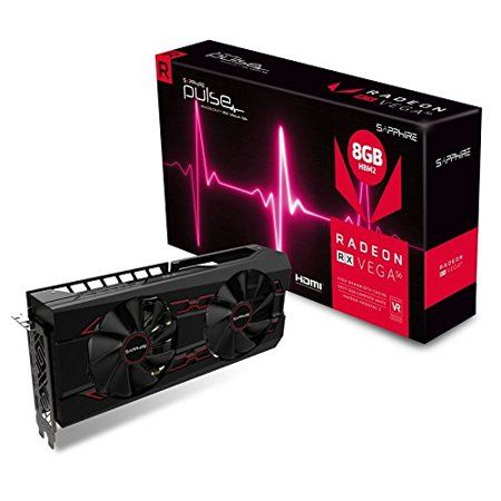 Sapphire Pulse Radeon Rx Vega 56 Graphic Card 1 21 Ghz Core 1 51 Ghz Boost Clock 8 Gb Hbm2 Triple Slot Space Required 214225 In 2019 Best Computer Black Screen Sapphire