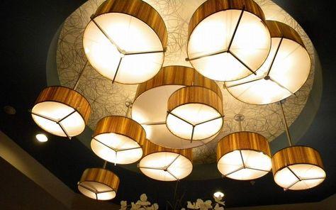 Koroseal Arbor Series Wood Veneer Danish Modern Lighting Wood