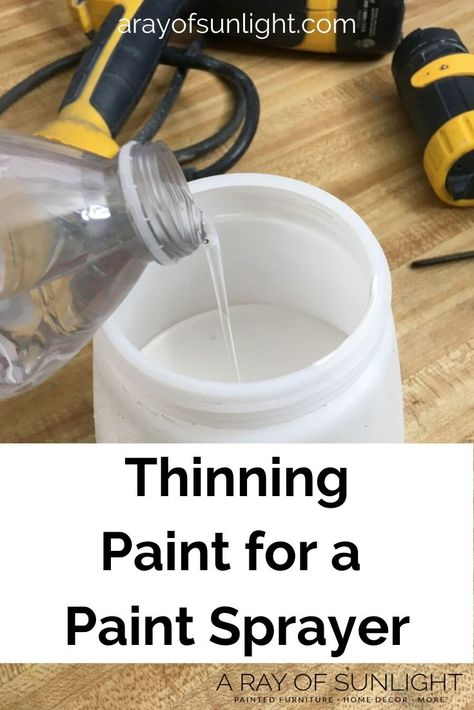 How to Spray Paint a Dresser with Chalk Paint &; A Ray of Sunlight How to Spray Paint a Dresser with Chalk Paint &; A Ray of Sunlight Darling Grape &; Home Decor darlinggrape […] Painting techniques Wagner Paint Sprayer, Hvlp Paint Sprayer, Best Paint Sprayer, Using A Paint Sprayer, Spray Chalk, Spray Paint Cans, How To Spray Paint, Spray Paint Furniture, Diy Furniture