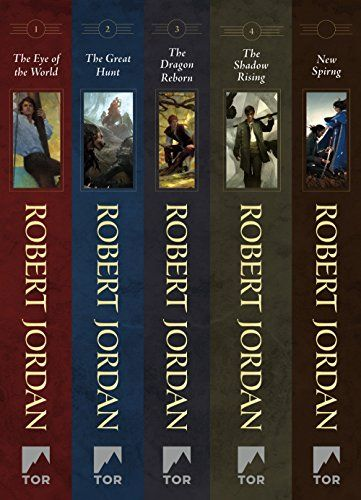 The Wheel Of Time Books 14 The Eye Of The World The Great Hunt The Dragon Reborn The Shadow Rising New Spring The Novel Wont A Wheel Of Time Books Books Shadow